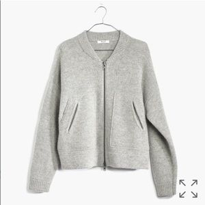 Madewell Bomber Cardigan Size XS